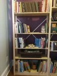 Upstairs bookcase