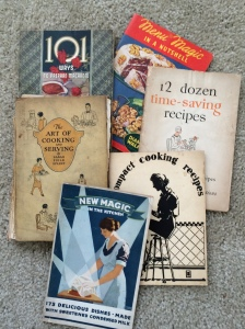 mom's cookbooks